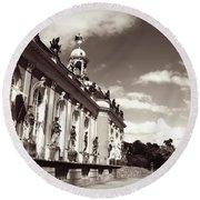 Berlin - Sanssouci Palace Round Beach Towel