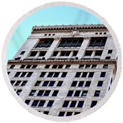 Bham Architecture Round Beach Towel