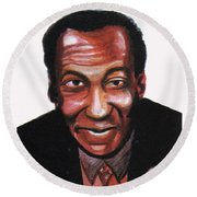 Bill Cosby Round Beach Towel