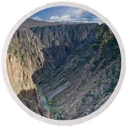 Black Canyon Afternoon Round Beach Towel