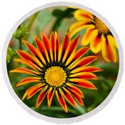 Blooming Beauty Round Beach Towel