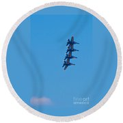 Blue Angels 14 Round Beach Towel
