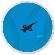 Blue Angels 17 Round Beach Towel