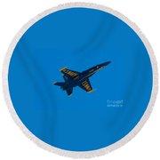 Blue Angels 18 Round Beach Towel