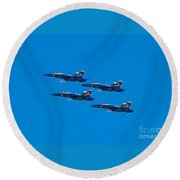 Blue Angels 25 Round Beach Towel