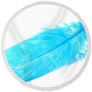 Blue Goose Round Beach Towel