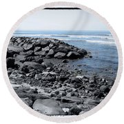 Blue Pacific Round Beach Towel