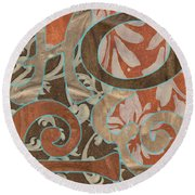 Bohemian Hope Round Beach Towel by Debbie DeWitt