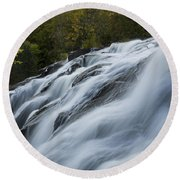 Bond Falls 9 B Round Beach Towel