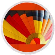 Bottom Up Round Beach Towel