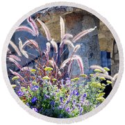 Bouquets On Display Round Beach Towel