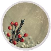 Bouquetterie Round Beach Towel