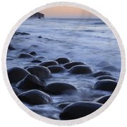 Bowling Ball Beach Round Beach Towel