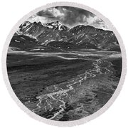 Braided River Round Beach Towel