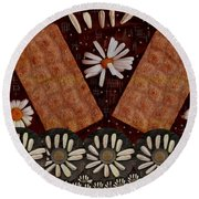 Bread And Summer Round Beach Towel