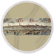 Bremen, Germany, 1719 Round Beach Towel