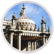 Brighton Pavilion Round Beach Towel