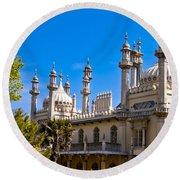 Brighton Royal Pavillion - England Round Beach Towel