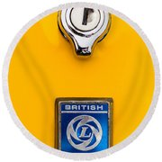 British Leyland Round Beach Towel