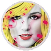Britney  Round Beach Towel