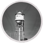 Broad Ave Watertower Memphis Round Beach Towel