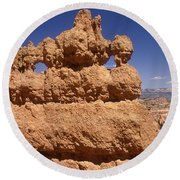 Bryce Canyon - Mask Formation Round Beach Towel