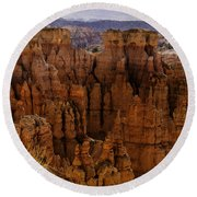 Bryce Canyon 01 Round Beach Towel