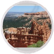 Bryce Canyon 5192 Round Beach Towel