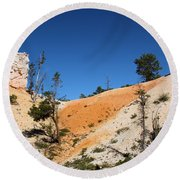 Bryce Canyon Character Round Beach Towel