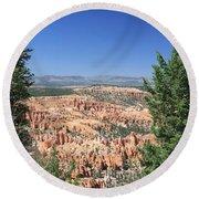 Bryce Canyon Panoramic Round Beach Towel