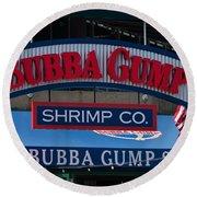 Bubba Gump Round Beach Towel