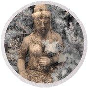 Buddha Nature Round Beach Towel