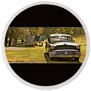 Buick For Sale Round Beach Towel