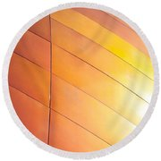 Building Exterior Round Beach Towel by Tom Gowanlock