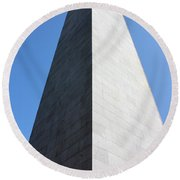 Bunker Hill Monument Round Beach Towel