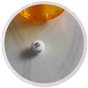 Bupropion Hydrochloride Round Beach Towel by Photo Researchers, Inc.