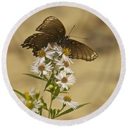 Butterfly 3321 Round Beach Towel