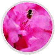 Bzzzz Round Beach Towel
