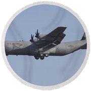 C-130j Super Hercules Of The 86th Round Beach Towel