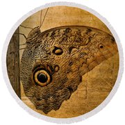 Caligo Round Beach Towel