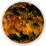 Calm Reflections Round Beach Towel