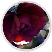 Camellia Twenty-six  Round Beach Towel
