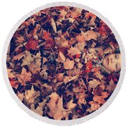 Camouflage 02 Round Beach Towel by Aimelle