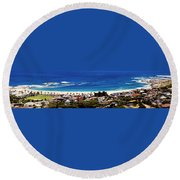 Camps Bay Beach Round Beach Towel