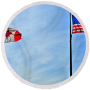 Can Usa Round Beach Towel