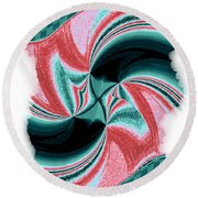 Candid Color 16 Round Beach Towel