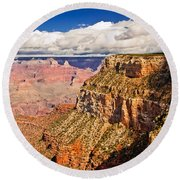 Canyon View Iv Round Beach Towel