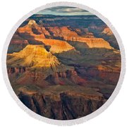 Canyon View Ix Round Beach Towel