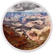 Canyon View Vii Round Beach Towel