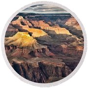 Canyon View Viii Round Beach Towel